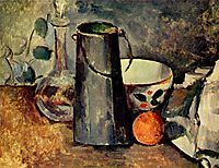 Still life, 1879, cezanne