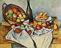 Still Life, Basket of Apples, 1890-1894, cezanne