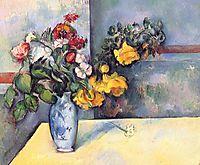 Still Life Flowers in a Vase, 1888, cezanne