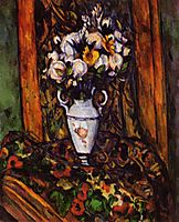 Still Life, Vase with Flowers, 1903, cezanne