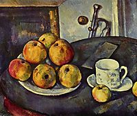 Still Life with Apples, 1894, cezanne