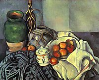 Still Life with Apples , 1894, cezanne