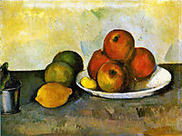 Still life with Apples, c.1890, cezanne