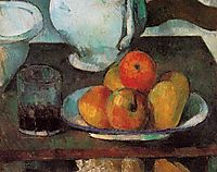 Still Life with Apples, c.1879, cezanne