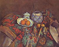 Still Life with Oranges, 1900, cezanne