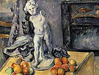 Still Life with Plaster Cupid, 1895, cezanne