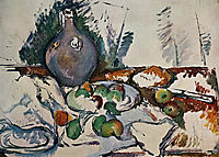 Still Life with Water Jug, 1893, cezanne