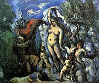 The Temptation of St. Anthony, c.1877, cezanne