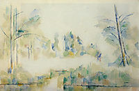 Trees by the Water, 1900, cezanne