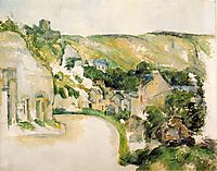 A Turn in the Road at La Roche-Guyon , 1885, cezanne