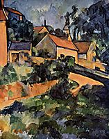Turning Road at Montgeroult, 1899, cezanne