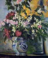 Two Vases of Flowers, c.1877, cezanne