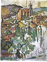 View of Gardanne, 1886, cezanne