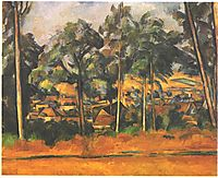 Village in the Provence, cezanne