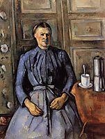 Woman with a Coffee Pot , c.1895, cezanne