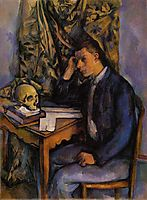 Young Man and Skull , c.1898, cezanne