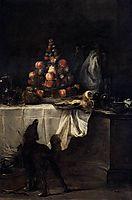 The Buffet, 1728, chardin