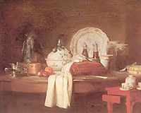 The Butler s Table, 1756, chardin