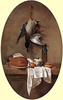 Duck with an Olive Jar, 1764, chardin