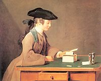 The House of Cards, 1737, chardin