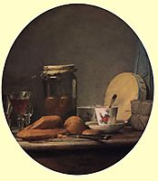 Jar of Apricots, 1758, chardin