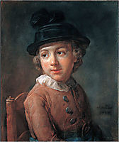 Portrait of a child, chardin