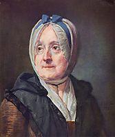 Portrait of Françoise Marguerite Pouget, 1775, chardin