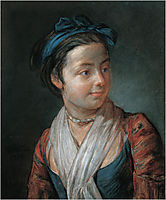 Portrait of a Young Girl, 1777, chardin