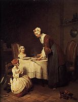 The Prayer before Meal, c.1740, chardin