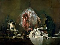 The Ray or, The Kitchen Interior, 1728, chardin