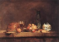 Still Life with Jar of Olives, 1760, chardin