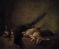 Still Life with Pheasant, c.1750, chardin