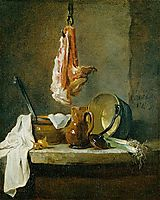 Still Life with a Rib of Beef, 1739, chardin