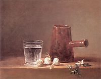 Water Glass, chardin