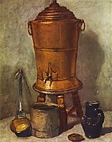 The water tank, c.1734, chardin