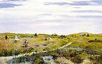 Along the Path at Shinnecock, 1896, chase