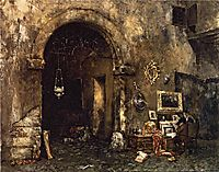 The Antiquary Shop, 1879, chase