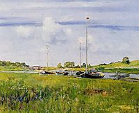 At the Boat Landing, 1902, chase