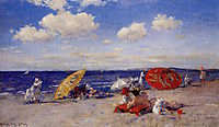At the Seaside, 1892, chase