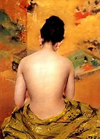 Back of a Nude, 1888, chase