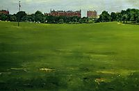 The Common, Central Park, 1889, chase