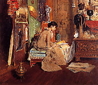 Connoisseur - The Studio Corner, 1882, chase