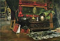 A Corner of My Studio, 1895, chase