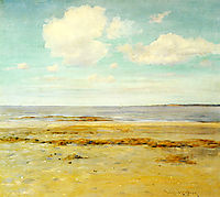 The Deserted Beach, c.1902, chase
