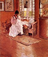 For the Little One aka Hall at Shinnecock, 1896, chase