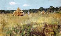 Grain Field, Shinnecock Hills, c.1891, chase