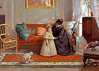 I am Going to See Grandma (aka Mrs. Chase and Child), 1889, chase