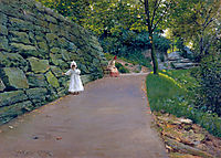 In the Park - a By-Path, c.1890, chase