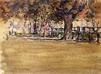 In Washington Park, Brooklyn, N.Y., c.1888, chase