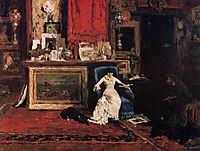Interior of the Artist-s Studio aka The Tenth Street, 1880, chase